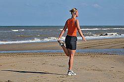 Dehnübung für die Oberschenkelvorderseite © Flickr / FaceMePLS