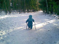 Die richtige Stocklänge beim Nordic Walking