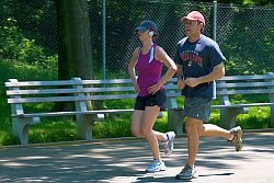 Sanftes Joggen als idealer Herzsport © Flickr / Ed Yourdon