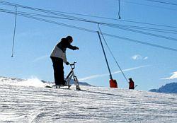 Snowbike: Alternativer Trend für Rad- und Skifahrer
