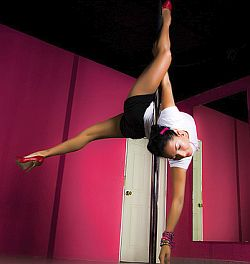 Pole-Dance – sexy und effektives Workout an der Stange