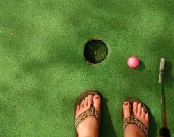 Golf. Foto: Flickr by Evil Erin