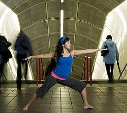 Business Yoga. Foto: Flickr/denisenicole