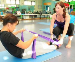 Theraband: ideale Fitnessgert fr zwischendurch