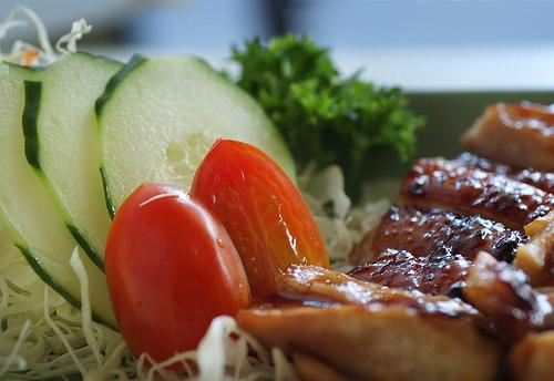 Gesundes und vitaminreiches Essen © Flickr / williamcho
