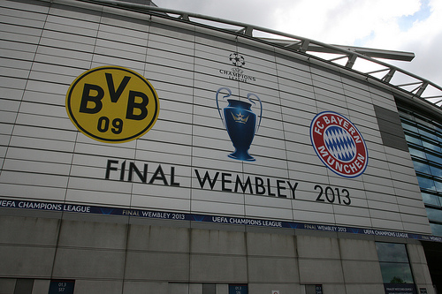 Borussia Dortmund - FC Bayern im Champions League-Finale 2013 © Flick / (Mick Baker)rooster