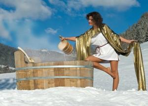 Holz Badezuber: Wie funktioniert die beliebte Wellness-Oase?