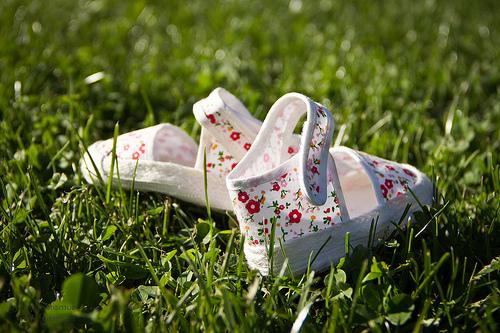 Babyschuhe © magnetismus / Flickr