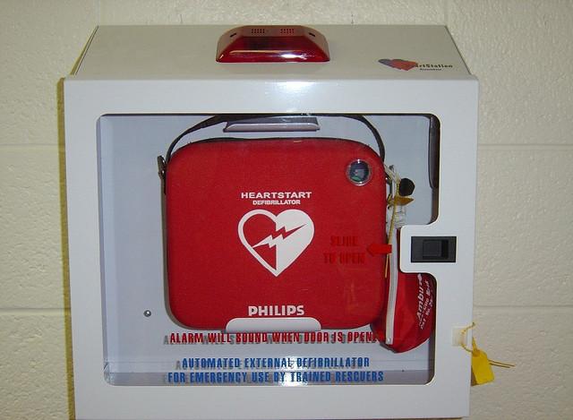 Defibrillator © David Bruce Jr.via Flickr