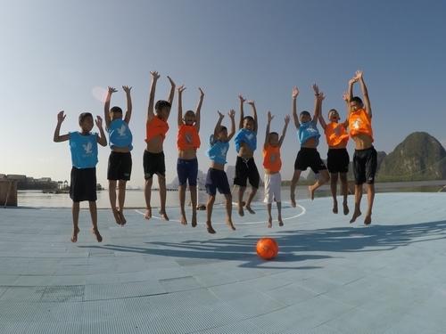 Luftsprung Kinder 4
